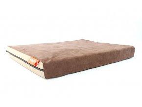 Matrace Aminela - 100x70x10cm half and half (hnědá/béžová)