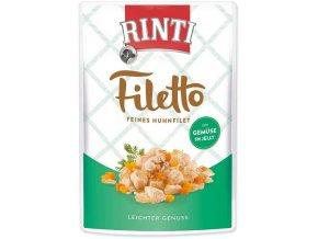 RINTI Filetto Kuře & zelenina v želé 125g