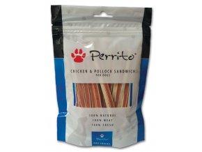 perrito chicken pollock sandwich