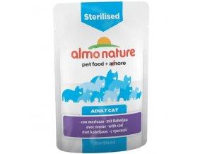 almo nature sterilised 70