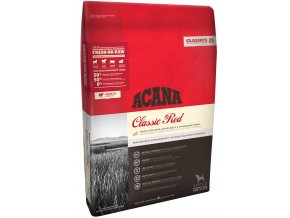 ACANA Dog Classic RED 17 kg  + pamlsek WOOLF 100g