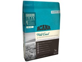 ACANA Dog Wild Coast 17 kg  + pamlsek WOOLF 100g