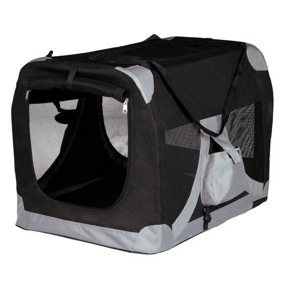 T-Camp De LUXE 1 35x35x50cm - černo-šedý