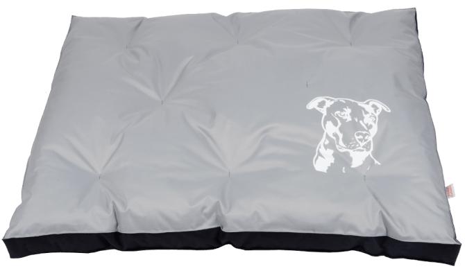 Matrace nylon Staford - šedo/černá 120 x 100 x 10 cm