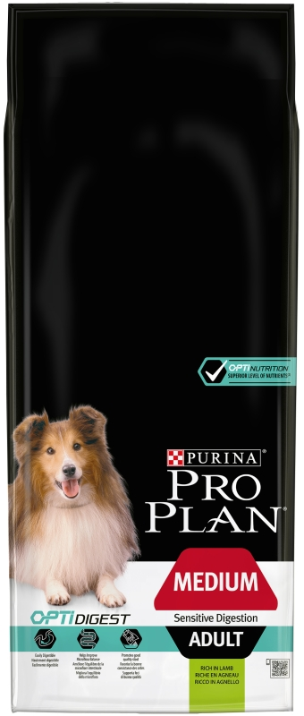 PRO PLAN Dog Adult Medium Sensitive Digestion 14 kg