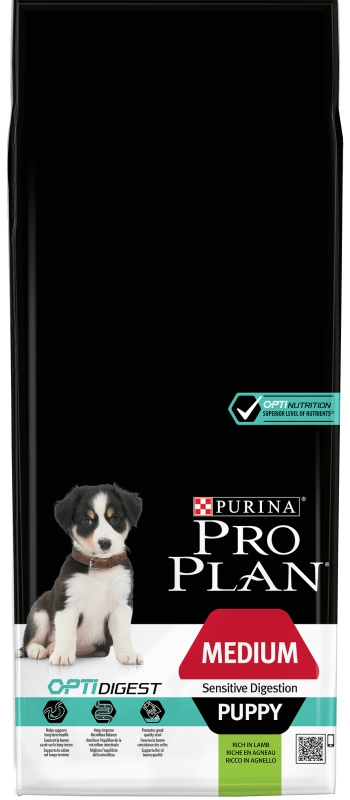 PRO PLAN Puppy Medium Sensitive Digestion 12 kg