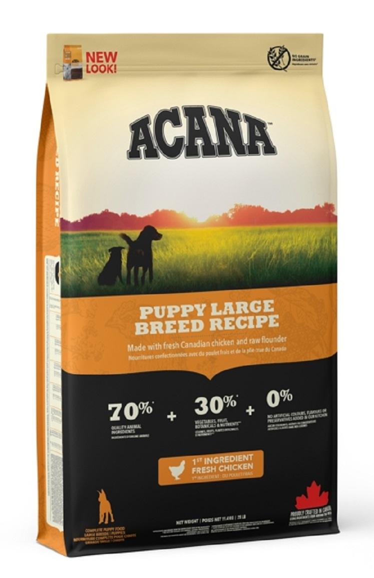 ACANA Heritage Dog Puppy Large Breed 11,4 kg
