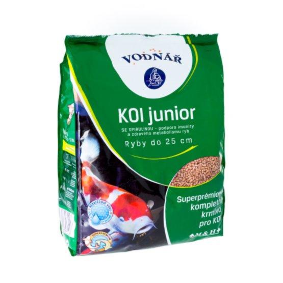 Krmivo pro ryby KOI Junior 4 kg