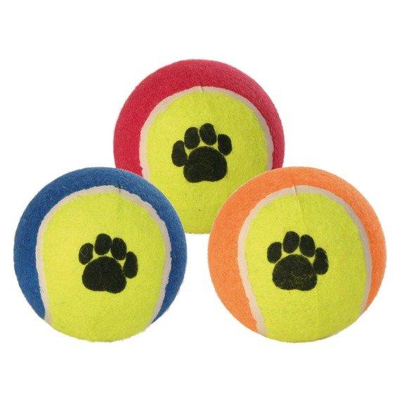 TRIXIE Tenisový míč barevný s tlapkou 6cm