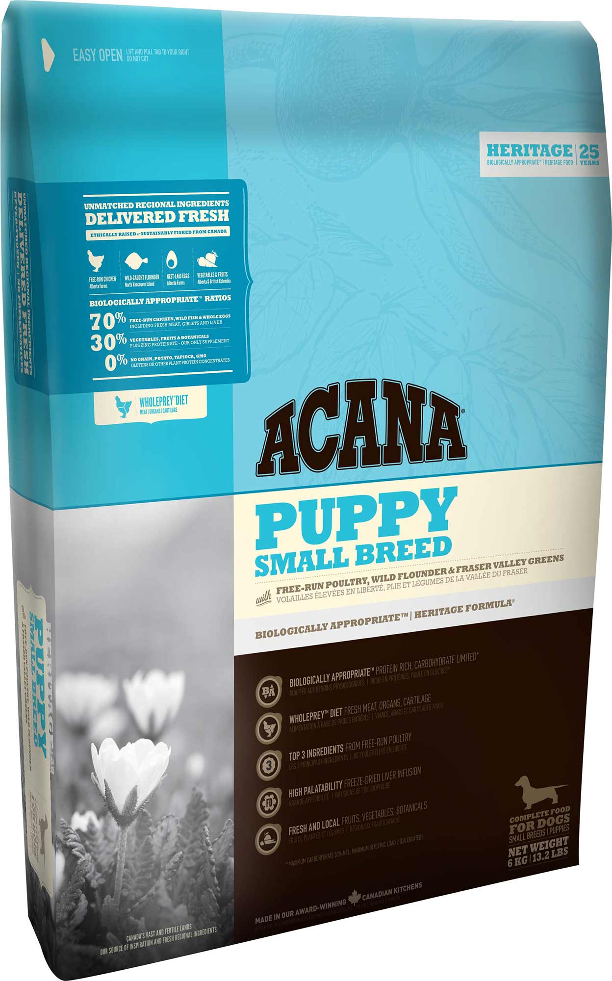 ACANA Heritage Dog Puppy Small Breed 6 kg