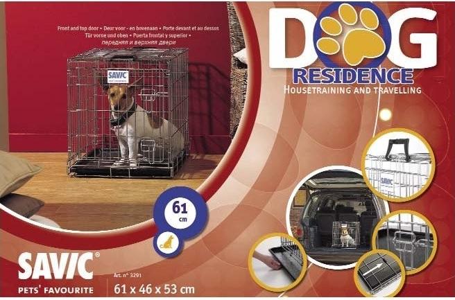 Klec do auta Dog Residence 61x46x53cm Savic