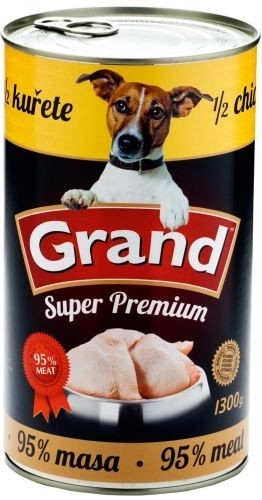 GRAND Superpremium 1/2 kuře 1300g
