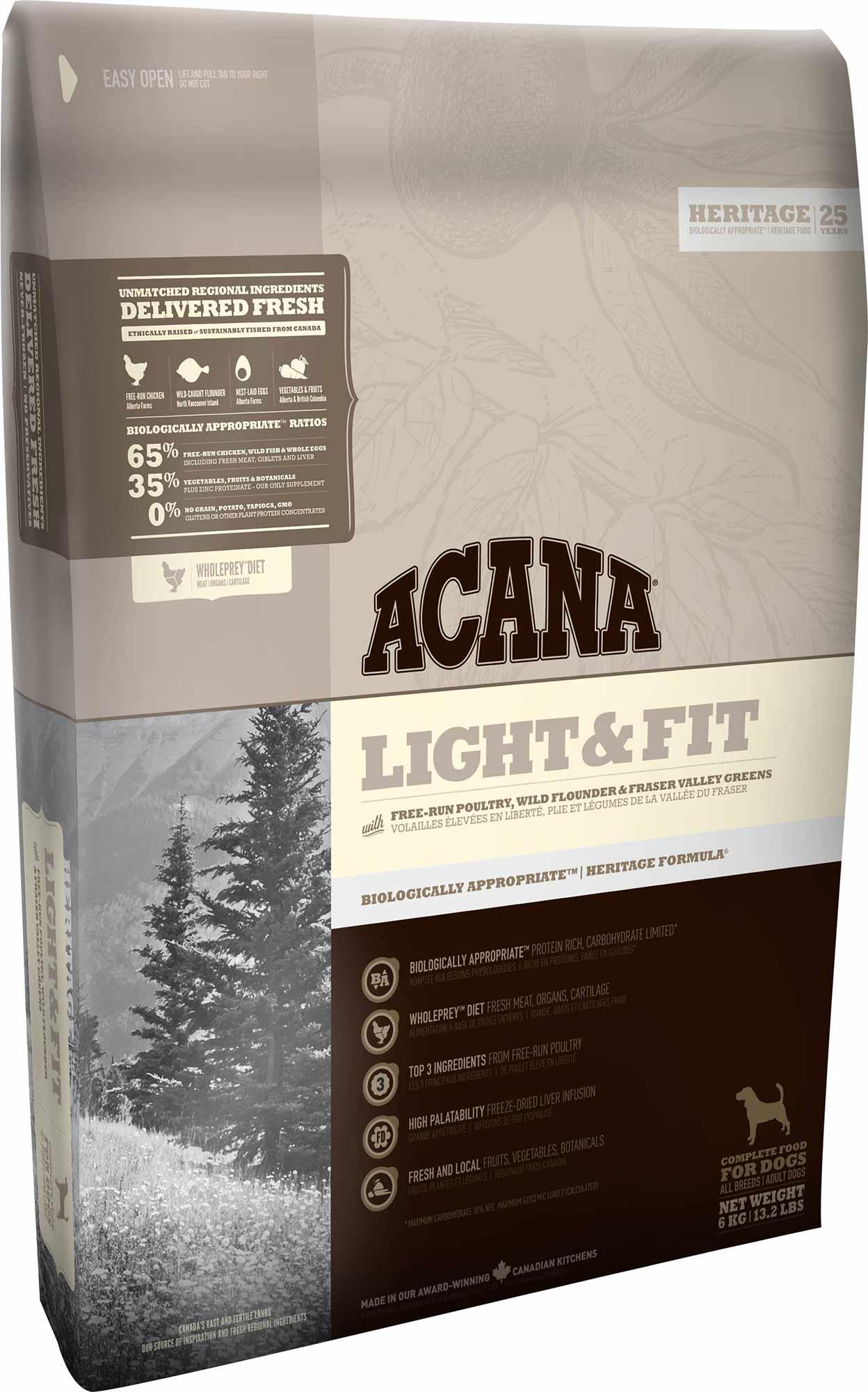 ACANA Heritage Dog Light & Fit 2 kg