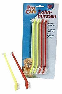 TRIXIE Plastové zubní kartáčky 4ks