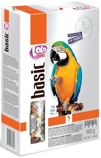 LOLO BASIC kompletní krmivo pro velké papoušky 900g