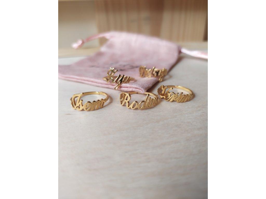 Prsten - zlatý
