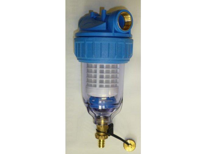 """Filtr na vodu OVV 3P 5"""" 1"""" sedimentační s odkalením"""