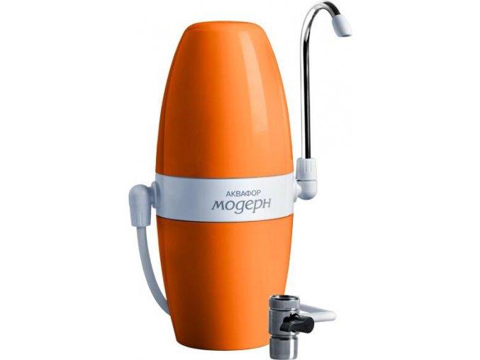 AQUAPHOR MODERN filtr pro pitnou vodu - oranžový