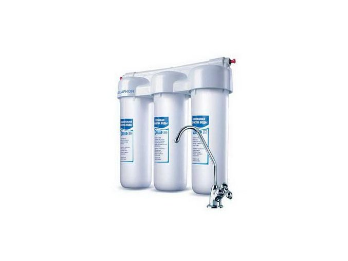 Vodní filtr AQUAPHOR TRIO- kvalitní filtrace