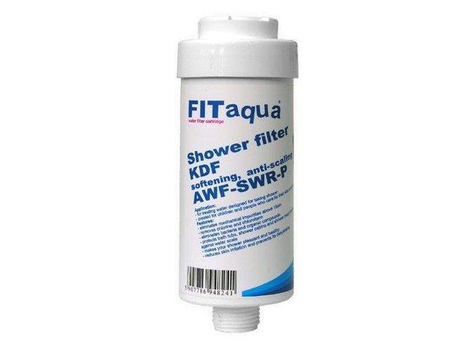 Sprchový filtr s aktivním uhlím a KDF AWF-SWR-KDF