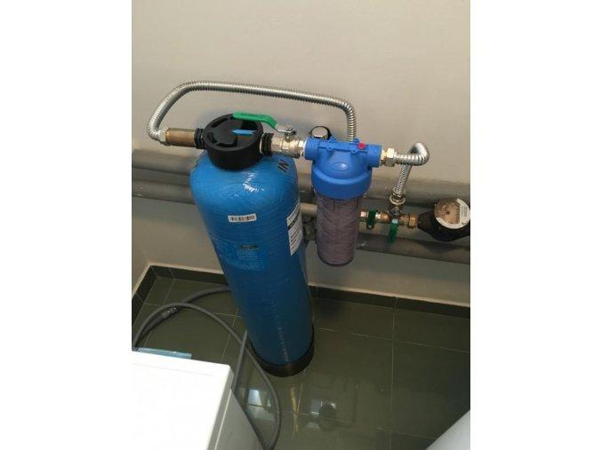Bezúdržbové změkčení vody SFS, 735 bez regenerační soli