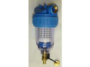 """Filtr na vodu OVV 3P 5"""" 3/4"""" sedimentační s odkalením"""