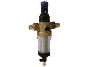 """Filtr SYR s manuálním čištěním vložky DFR 1"""" s regulátorem tlaku"""