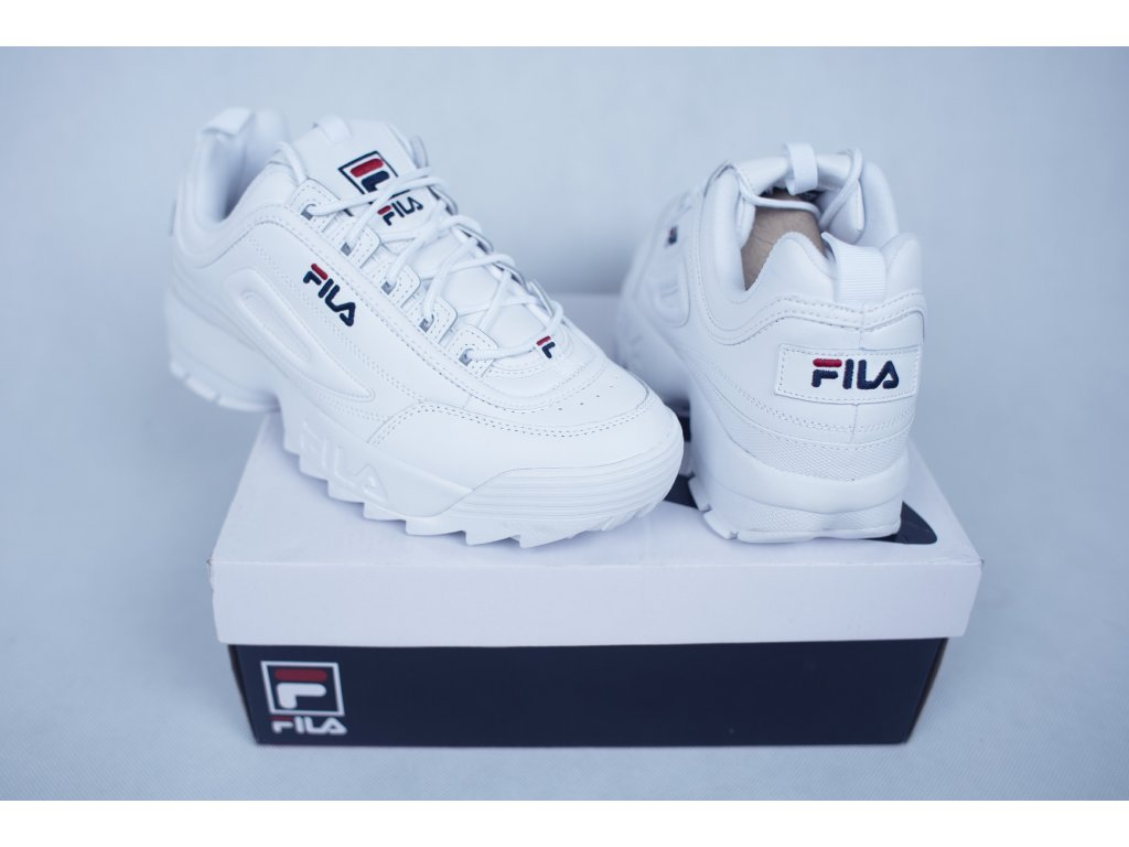 fila kicks white