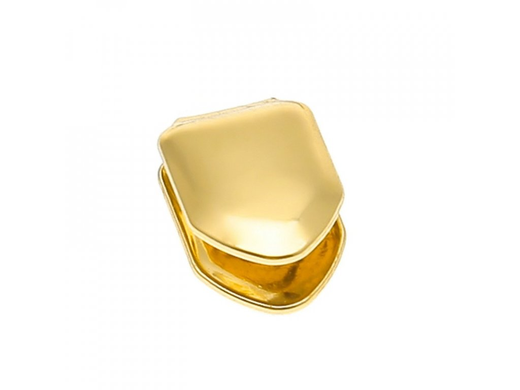 Hiphop 14k Gold Plated Single Cap Grillz