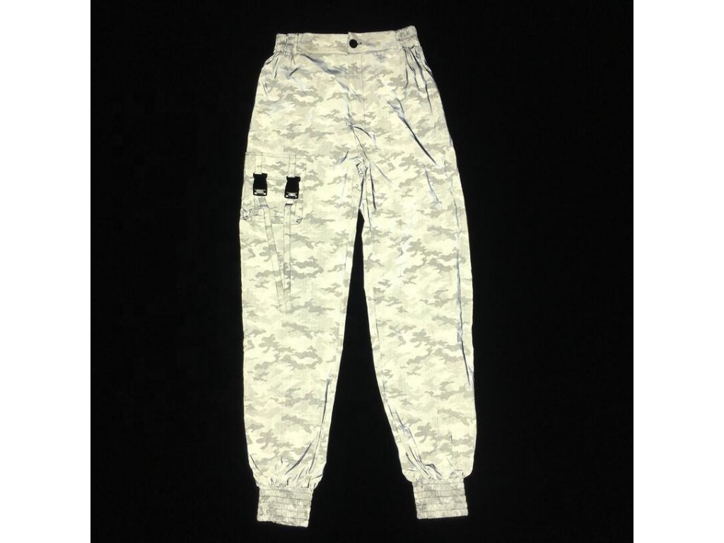 New Trending Loose Windbreak Mens Reflective Camo (4)