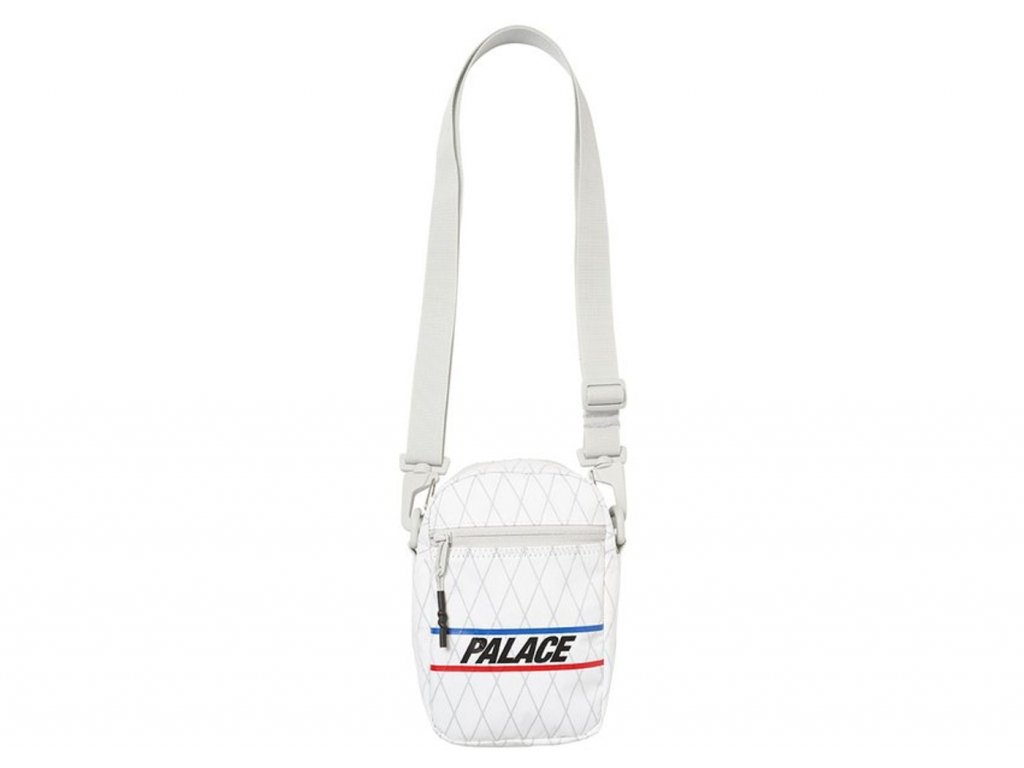 Palace Dimension Shot Bag White