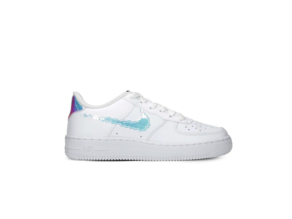 Nike Air force 1 low Holographic swoosh