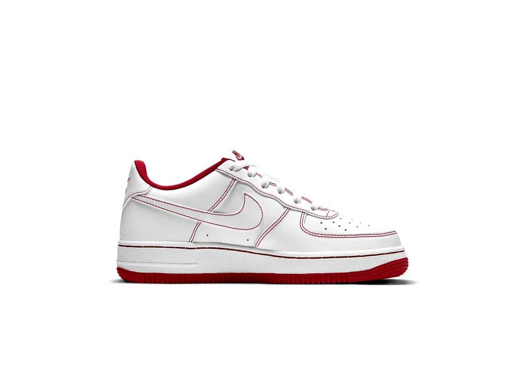 Nike 'Air Force 1' Červené Šití