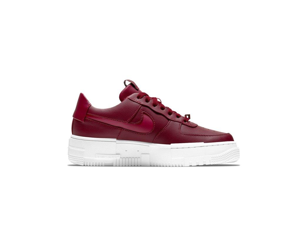 Nike Air Force 1 Pixel Červená