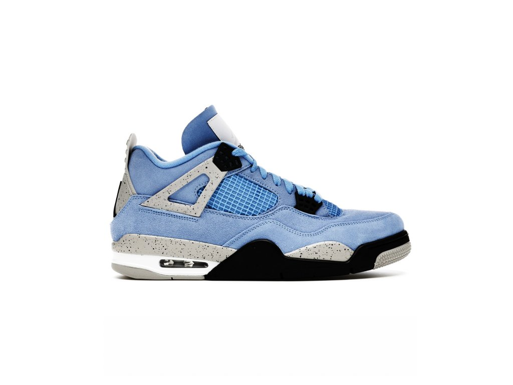Jordan 4 Retro University Blue 1