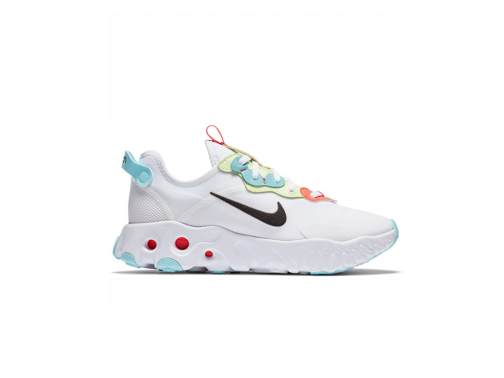 Nike React ART3MIS White Bright Crimson