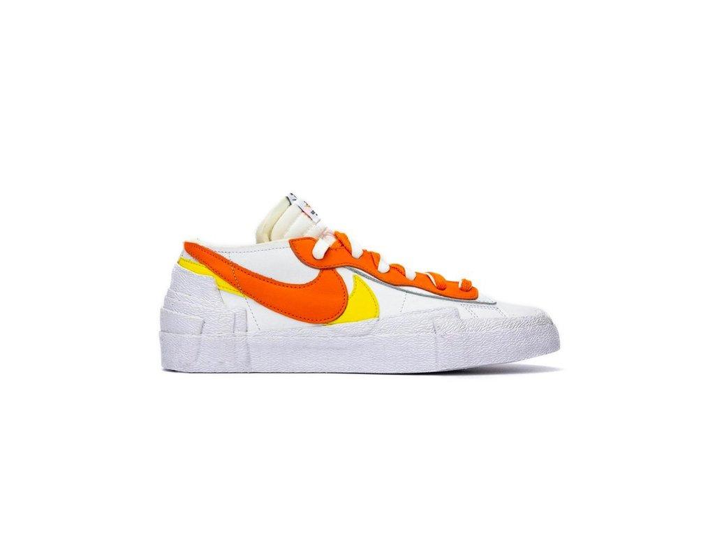 Nike Blazer Low sacai White Magma Orange