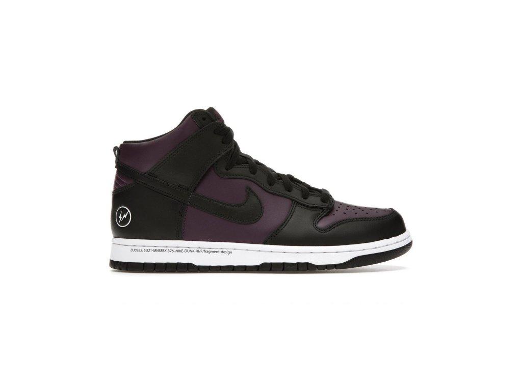 Nike Dunk High fragment design Beijing