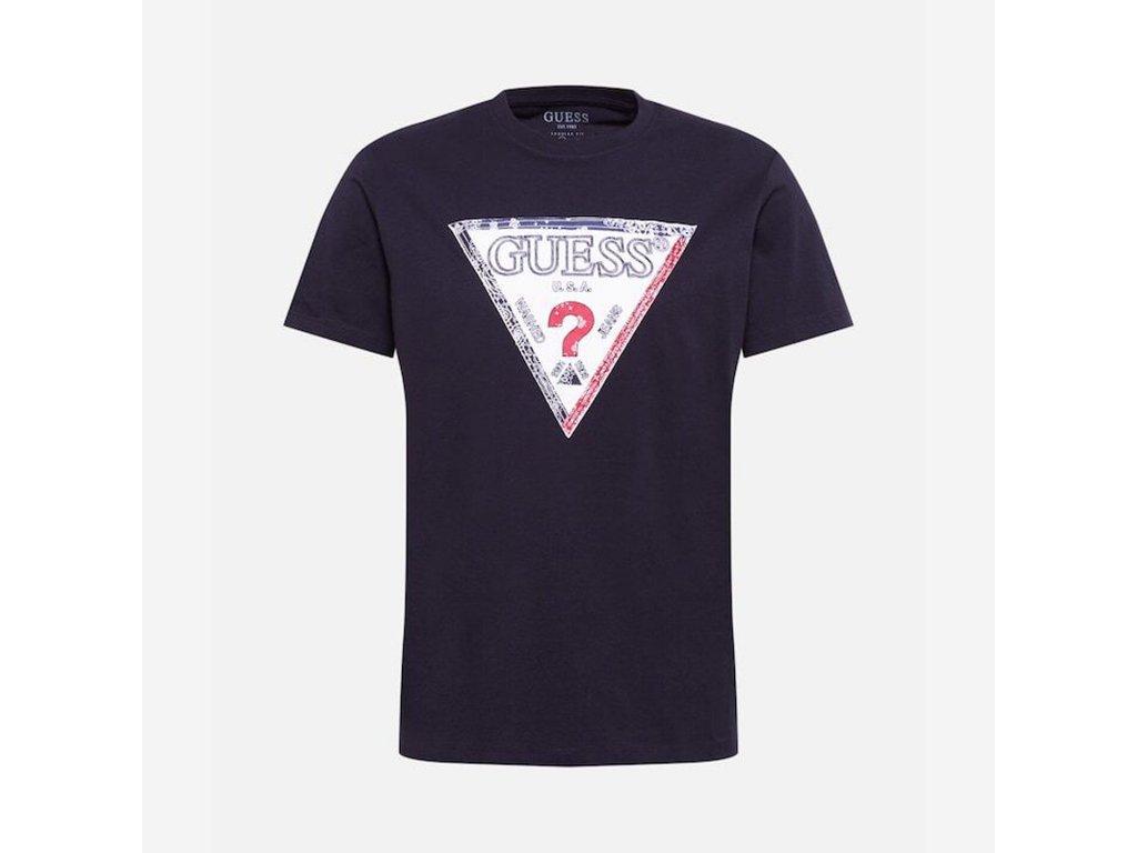 Guess Tričko Logo s krátkým rukávem