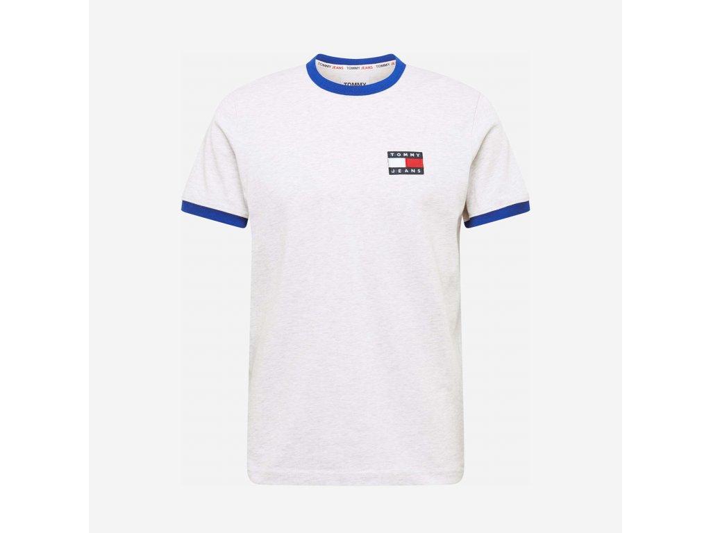 Tommy Jeans Bílé Tričko s krátkým rukávem