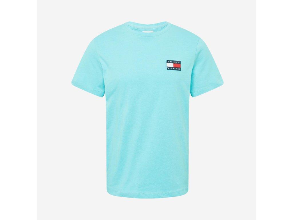 Tommy Jeans Tričko s krátkým rukávem, Modrá