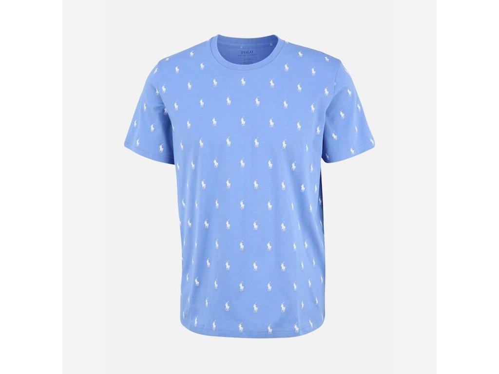 Ralph Lauren Modré Tričko Krátký rukáv