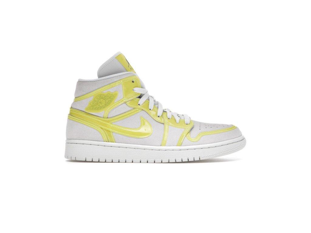 Jordan 1 Mid Opti Yellow