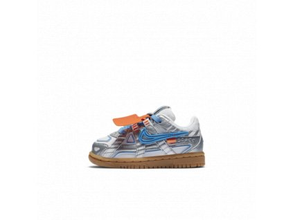 Nike Air Rubber Dunk X Off-White University Blue (TD)