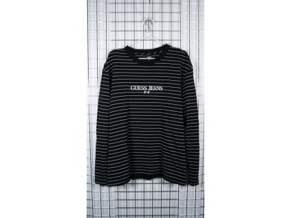 Guess × Places + Faces Reflective Striped L/S Tričko