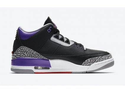Air Jordan 3 Black Court Purple CT8532 050 Release Date 2