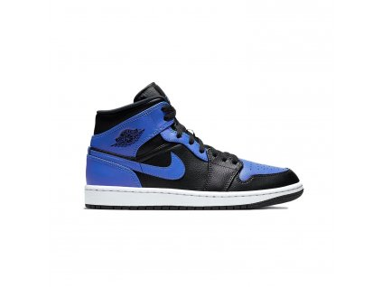 Jordan 1 Mid Black Royal