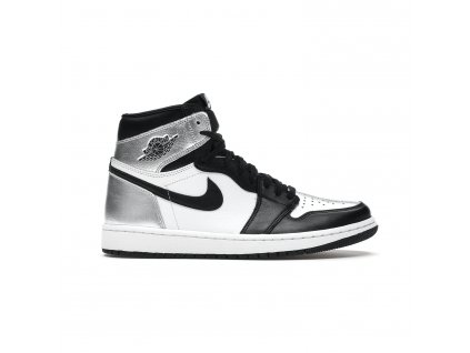 Air Jordan 1 Retro High OG Silver Toe