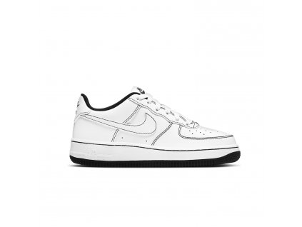 Nike 'Air Force 1' Černé Šití