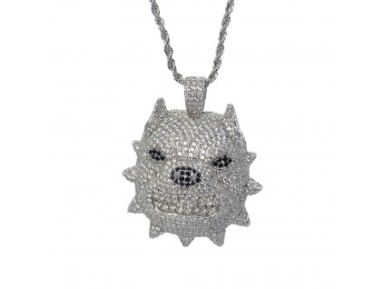 ICED OUT DOG CHAIN